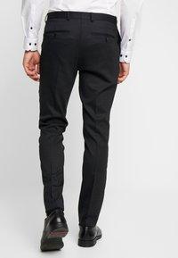 Selected Homme - SLHSLIM REX TUX SUIT - Costume - dark grey melange - 5