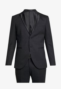 Selected Homme - SLHSLIM REX TUX SUIT - Costume - dark grey melange - 9