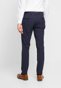 Selected Homme - SLHSLIM MYLOLOGAN SUIT - Oblek - navy blue/grey - 5