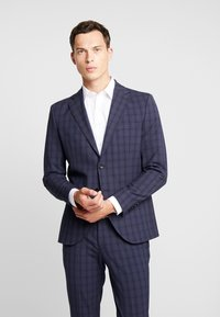 Selected Homme - SLHSLIM MYLOLOGAN SUIT - Oblek - navy blue/grey - 2