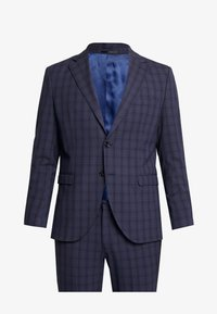Selected Homme - SLHSLIM MYLOLOGAN SUIT - Oblek - navy blue/grey - 9
