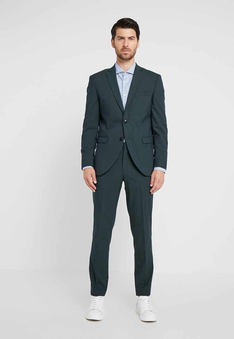 Selected Homme - SLHSLIM MYLOLOGAN SPRUCE SUIT  - Costume - darkest spruce