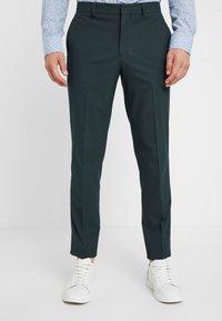 Selected Homme - SLHSLIM MYLOLOGAN SPRUCE SUIT  - Suit - darkest spruce - 4