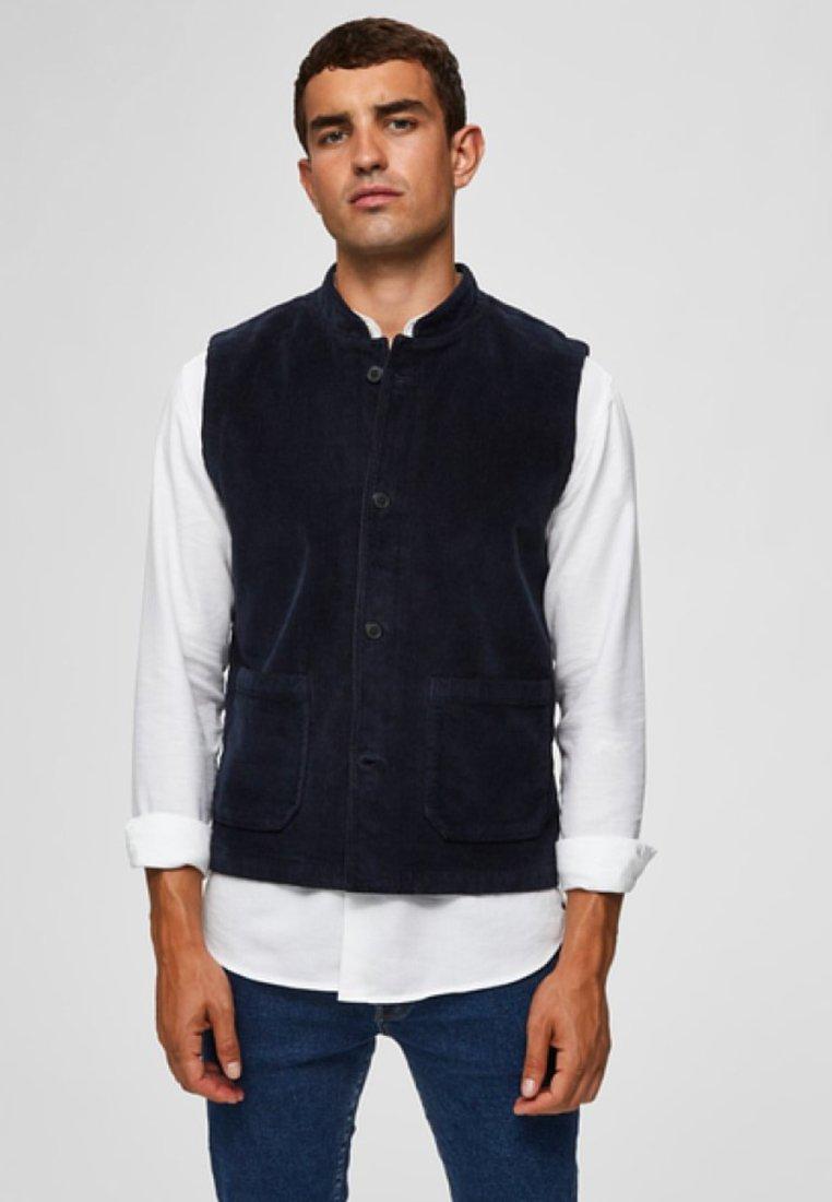 Selected Homme - Suit waistcoat - sky captain