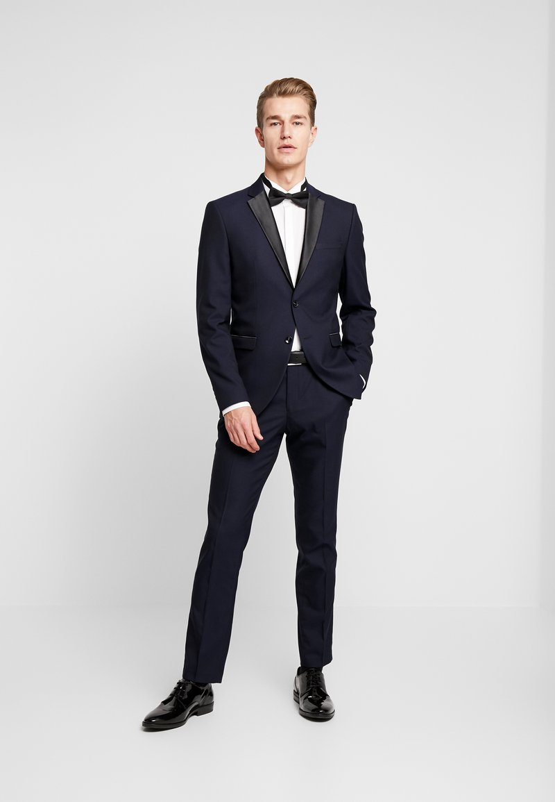Selected Homme - SLHSLIM-TIGALOGAN TUX SUIT - Kostuum - dark navy