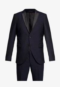 Selected Homme - SLHSLIM-TIGALOGAN TUX SUIT - Kostuum - dark navy - 11