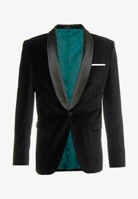 Selected Homme - SLHSLIM-HICKVELVET  - blazer - black - 5