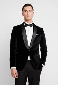 Selected Homme - SLHSLIM-HICKVELVET  - blazer - black - 0