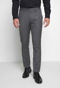 Selected Homme - SLHSLIM MYLOHAZE SUIT  - Oblek - grey - 4