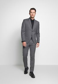 Selected Homme - SLHSLIM MYLOHAZE SUIT  - Oblek - grey - 1