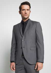 Selected Homme - SLHSLIM MYLOHAZE SUIT  - Oblek - grey - 2