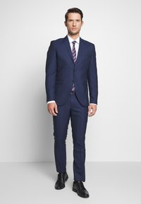 Selected Homme - SLHSLIM MYLOHOLT NAVY SUIT  - Suit - navy - 0