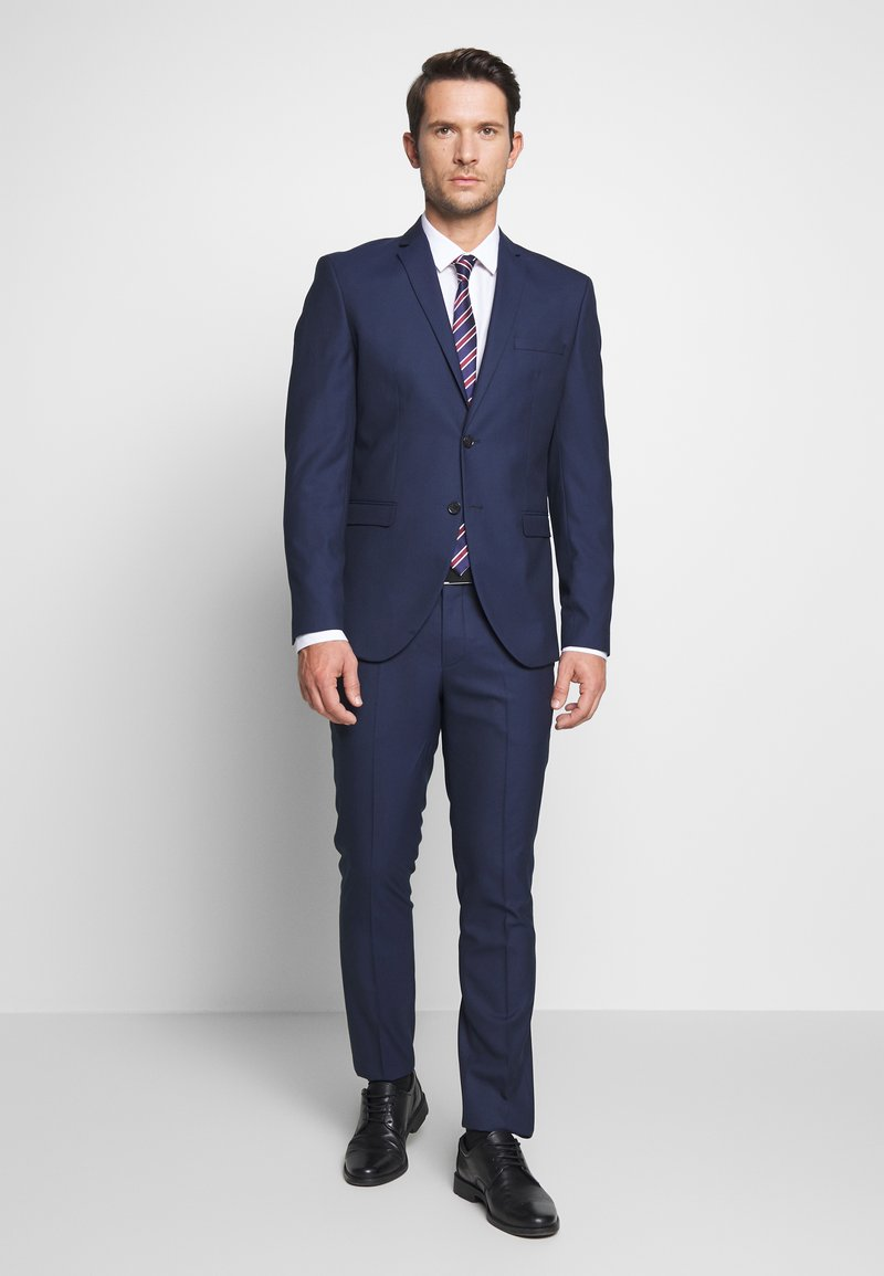 Selected Homme - SLHSLIM MYLOHOLT NAVY SUIT  - Suit - navy