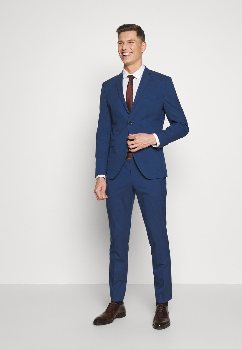 Selected Homme - SLHSLIM MYLOLOGAN SUIT - Completo - blue
