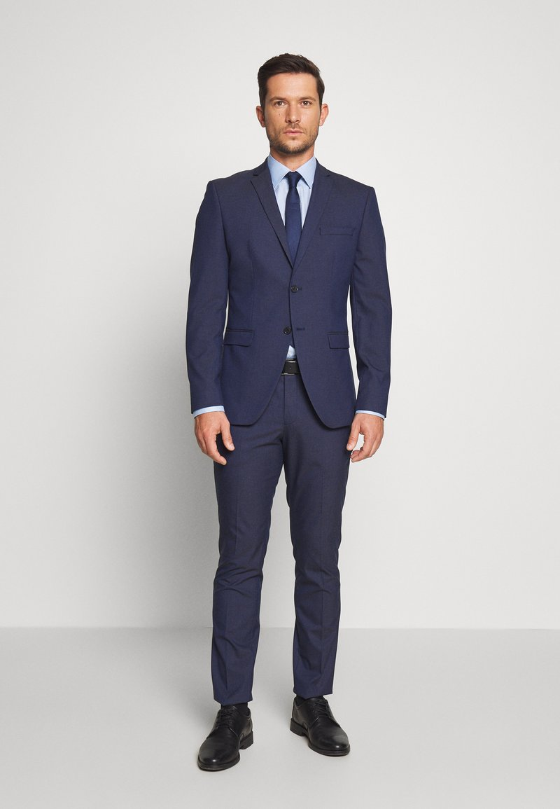 Selected Homme - SLHSLIM MYLOLOGAN SUIT SET - Garnitur - blue
