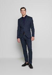 Selected Homme - SLHSLIM ANDRE  - Oblek - dark blue/green - 0