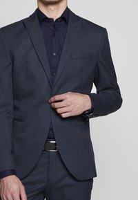 Selected Homme - SLHSLIM ANDRE  - Oblek - dark blue/green - 6