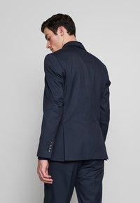 Selected Homme - SLHSLIM ANDRE  - Oblek - dark blue/green - 3