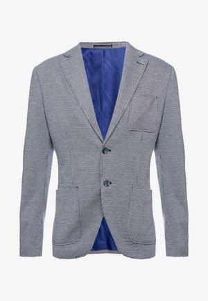 SLHSLIM HANK  - Blazer jacket - navy blue/white