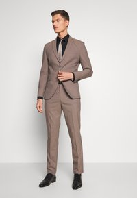 Selected Homme - SLHSLIM MYLOLOGAN SUIT - Sako - sand - 0