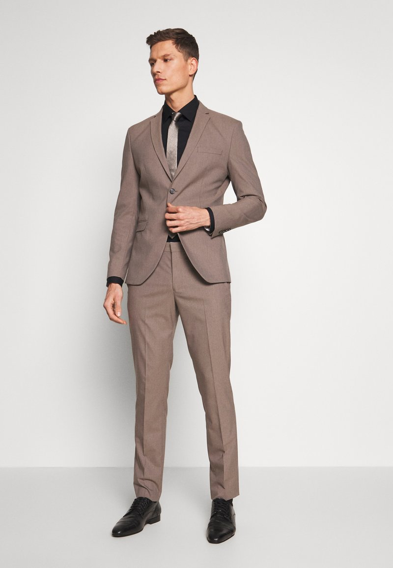 Selected Homme - SLHSLIM MYLOLOGAN SUIT - Sako - sand