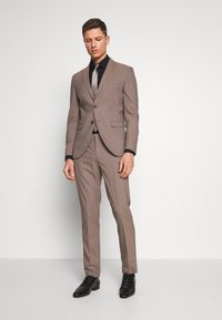Selected Homme - SLHSLIM MYLOLOGAN SUIT - Sako - sand - 1