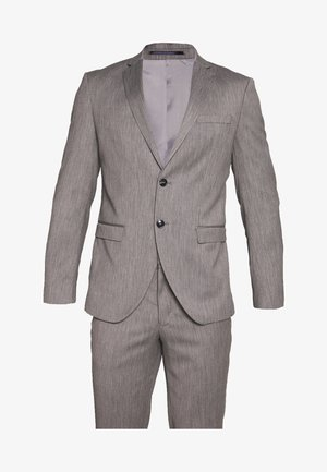SLHSLIM MYLOBILL SUIT - Suit - light grey melange