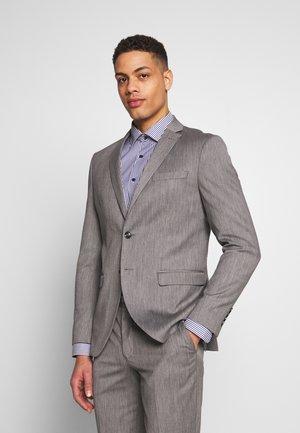 SLHSLIM MYLOBILL SUIT - Suit - light grey melange