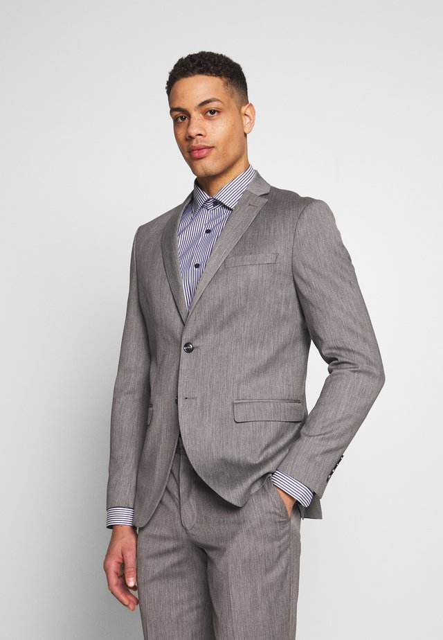 SLHSLIM MYLOBILL SUIT - Oblek - light grey melange