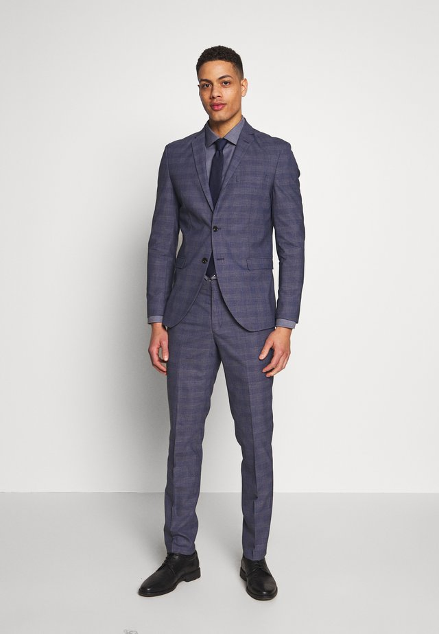 SLHSLIM SUIT - Oblek - blue depths
