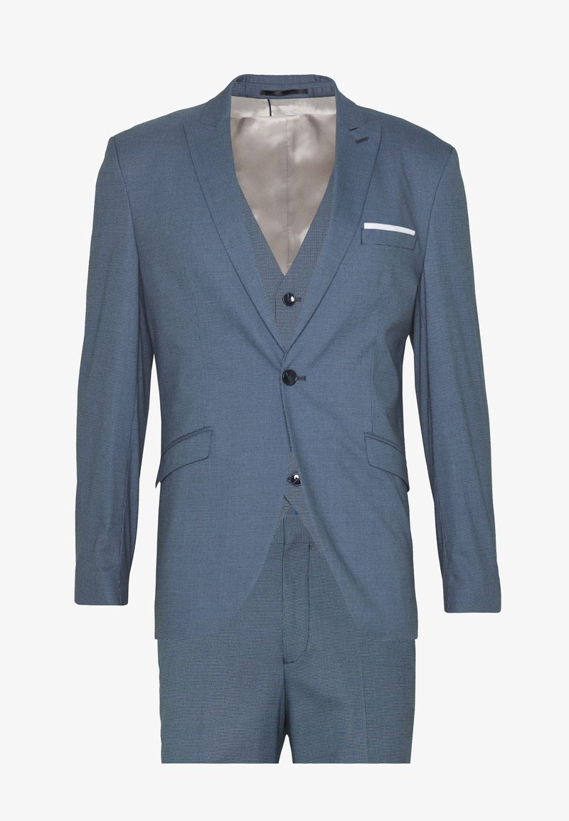 Selected Homme - SLHSLIM 3PCS SUIT - Completo - ashley blue