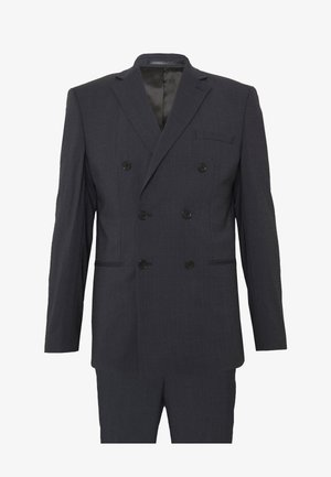 SLHSLIM DAX SUIT - Oblek - dark blue/grey
