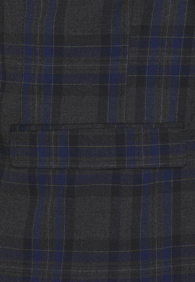 SLHSLIM  - Oblek - dark grey/blue