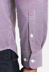 Selected Homme - SHDONENEW MARK SLIM FIT - Kauluspaita - bright white/red/navy/white - 4