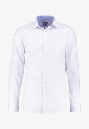 SHDONENEW MARK SLIM FIT - Kauluspaita - bright white