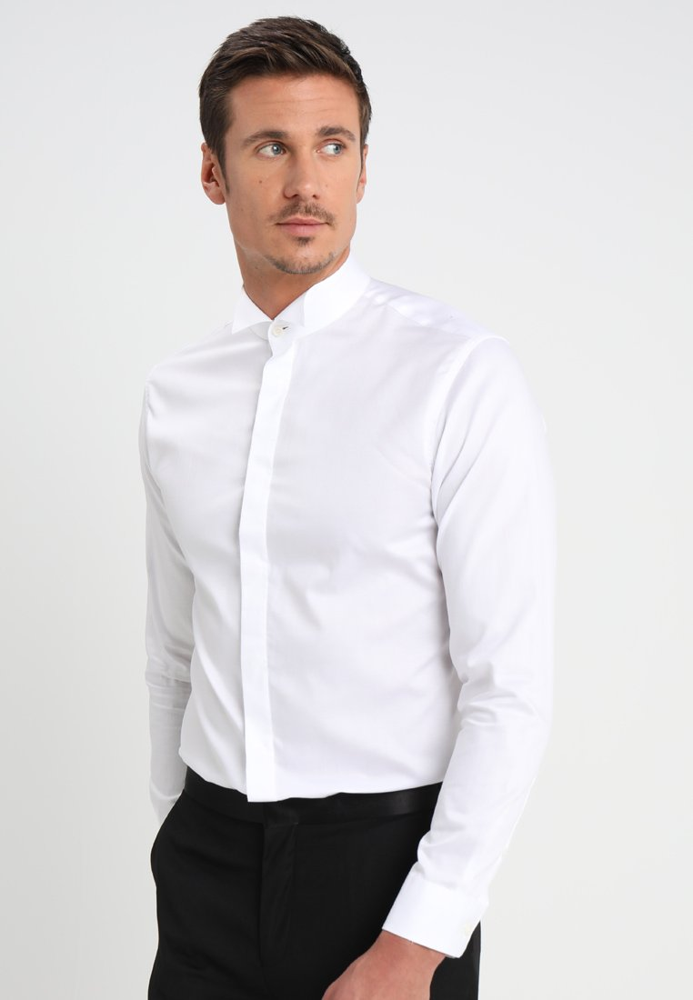 Selected Homme - SHXONETUX SLIM FIT - Košile - bright white