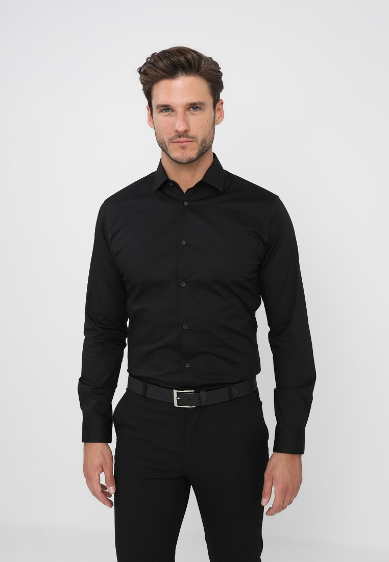 Selected Homme - SLHSLIMBROOKLYN - Shirt - black