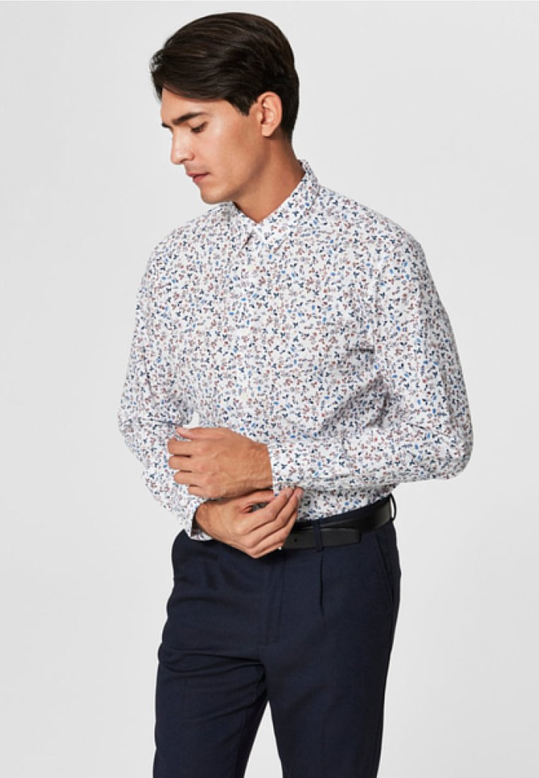 Selected Homme - SLIM FIT - Shirt - bright white