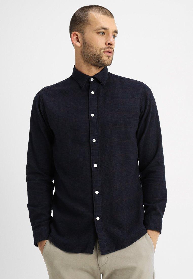 Selected Homme - SLHSLIMANDREW - Shirt - rum raisin/check