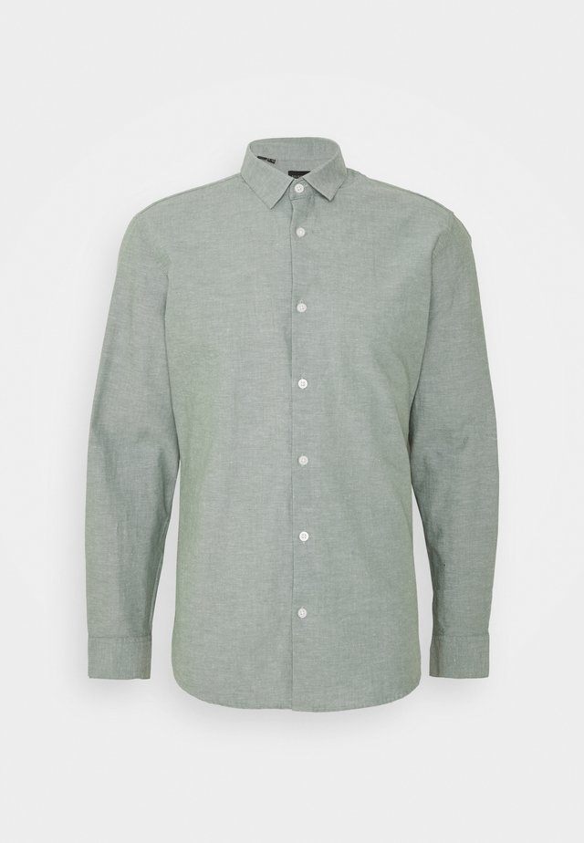 SLHSLIMLINEN - Shirt - sea spray