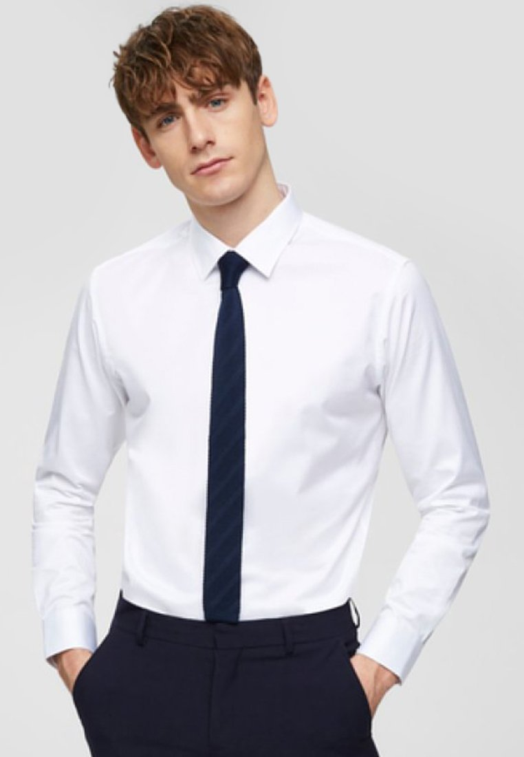 Selected Homme - SLHSLIMPEN - Formal shirt - bright white