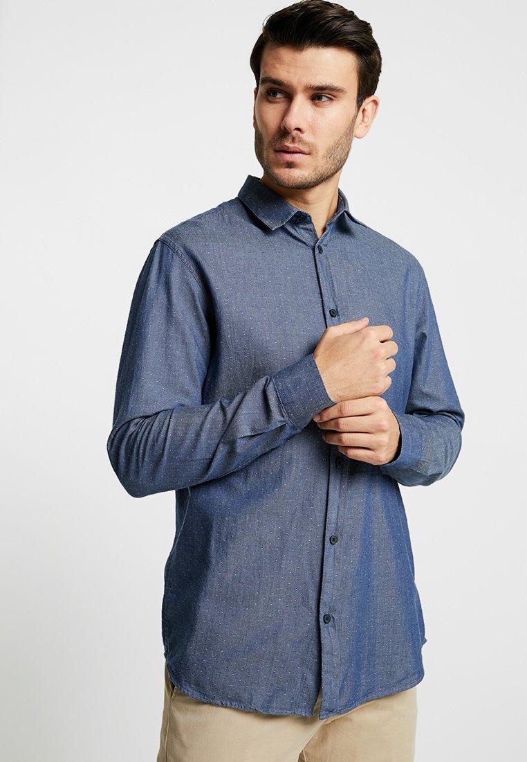 Selected Homme - SLHSLIMKRIS SPRING  - Shirt - dark blue