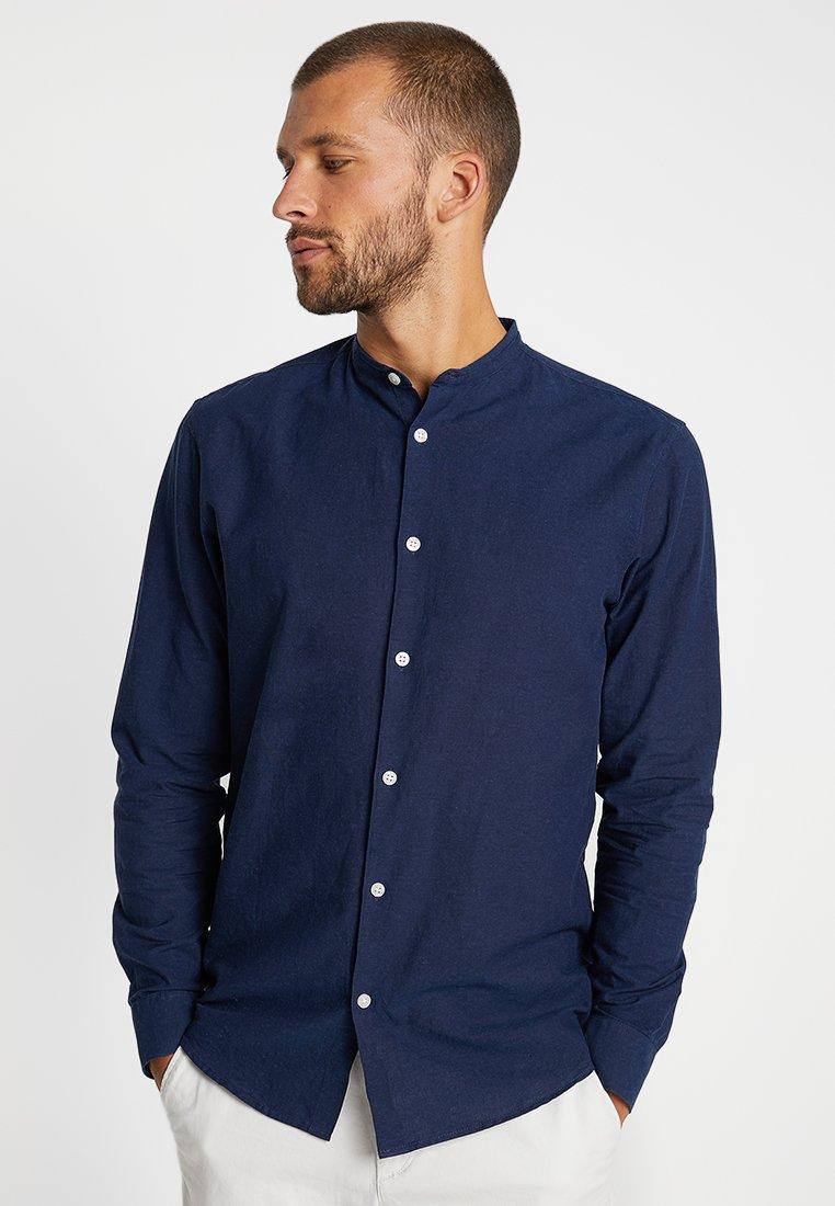 Selected Homme - SLHSLIMLINEN  - Skjorter - dark blue