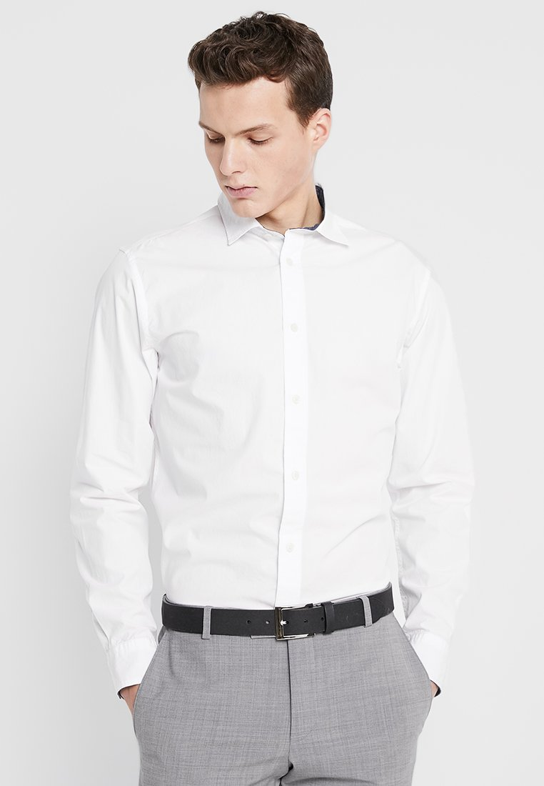 Selected Homme - SLHSLIMMARK-WASHED - Finskjorte - bright white