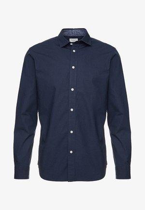 SLHSLIMMARK-WASHED - Formální košile - navy blazer