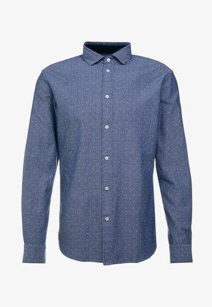 SLHSLIMMARK-WASHED - Zakelijk overhemd - dark blue