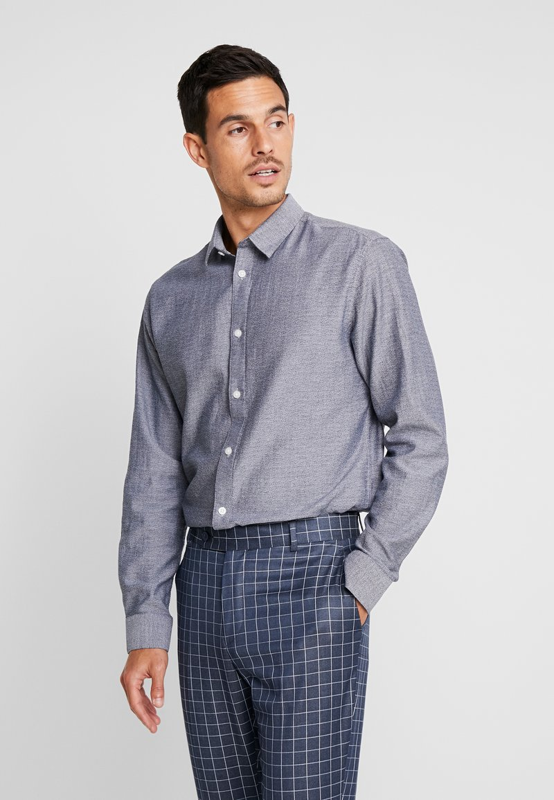 Selected Homme - SLHSLIMMUTE  - Shirt - dark sapphire