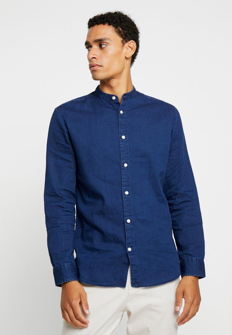 Selected Homme - SLHSLIMNOLAN BASIC - Skjorter - dark blue