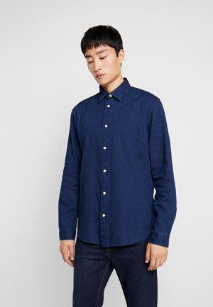 SLHSLIMNOLAN - Camisa - dark blue denim
