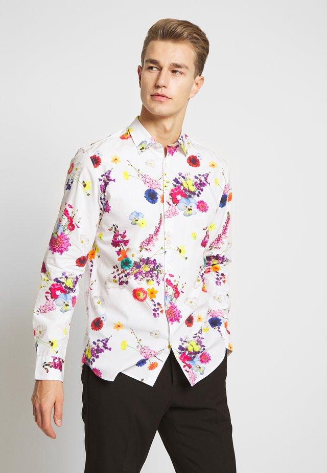 SLHREGJAKE  - Shirt - bright white